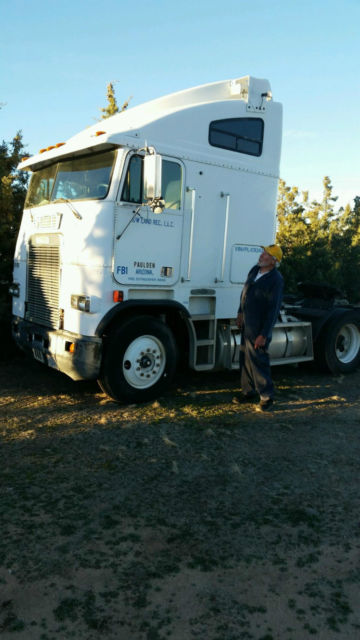 1993 White Freightliner Fla Cabover Classic Other Makes