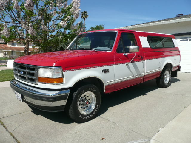 1993 Xlt Standard Cab Long Bed And Matching Camper Shell
