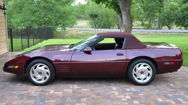 corvette convertible classic chevrolet corvette 1994 for sale. Cars Review. Best American Auto & Cars Review