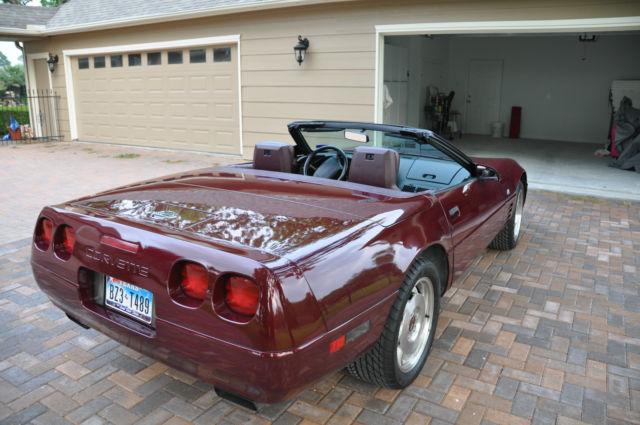 1994 40th Anniversary Corvette Convertible Classic