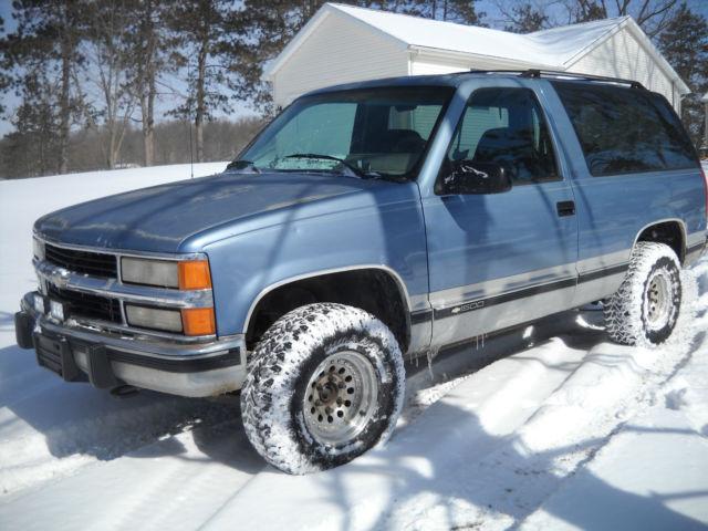 1994 94 Chevy Blazer K5 Full Size 1500 5 Speed Manual 4wd