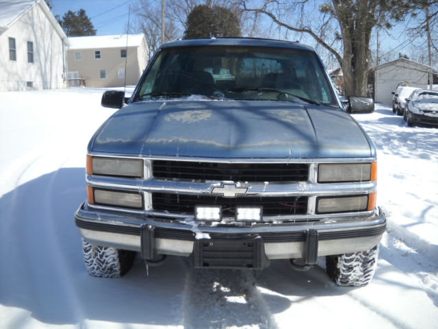 Chevy Blazer K Full Size Speed Manual Wd No Rust Sweet