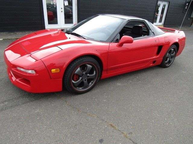 Acura Nsx Dr Sport Auto Red K Old School Cool