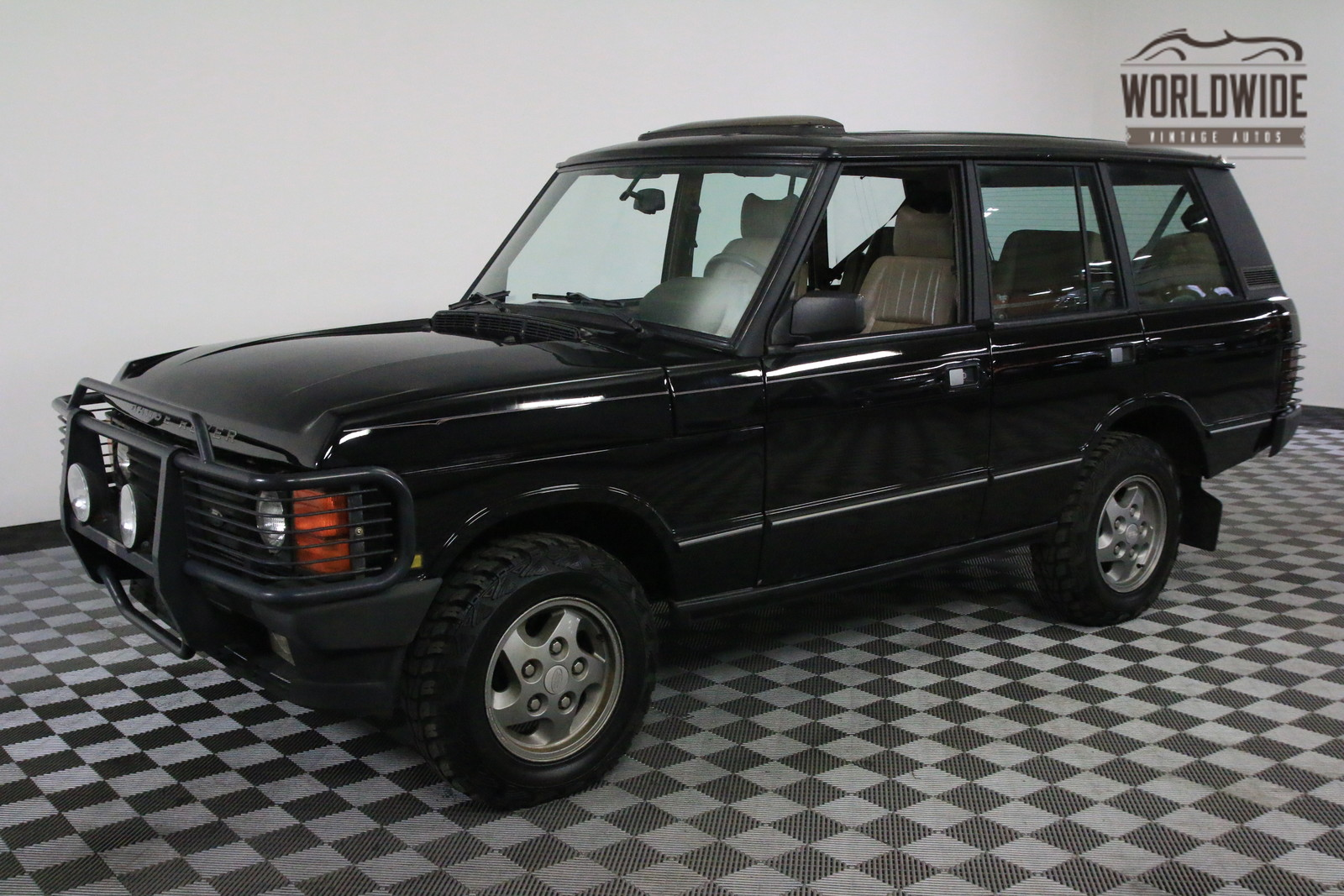 1994 black 127k auto ac range rover classic classic land rover range rover 1994 for sale. Black Bedroom Furniture Sets. Home Design Ideas