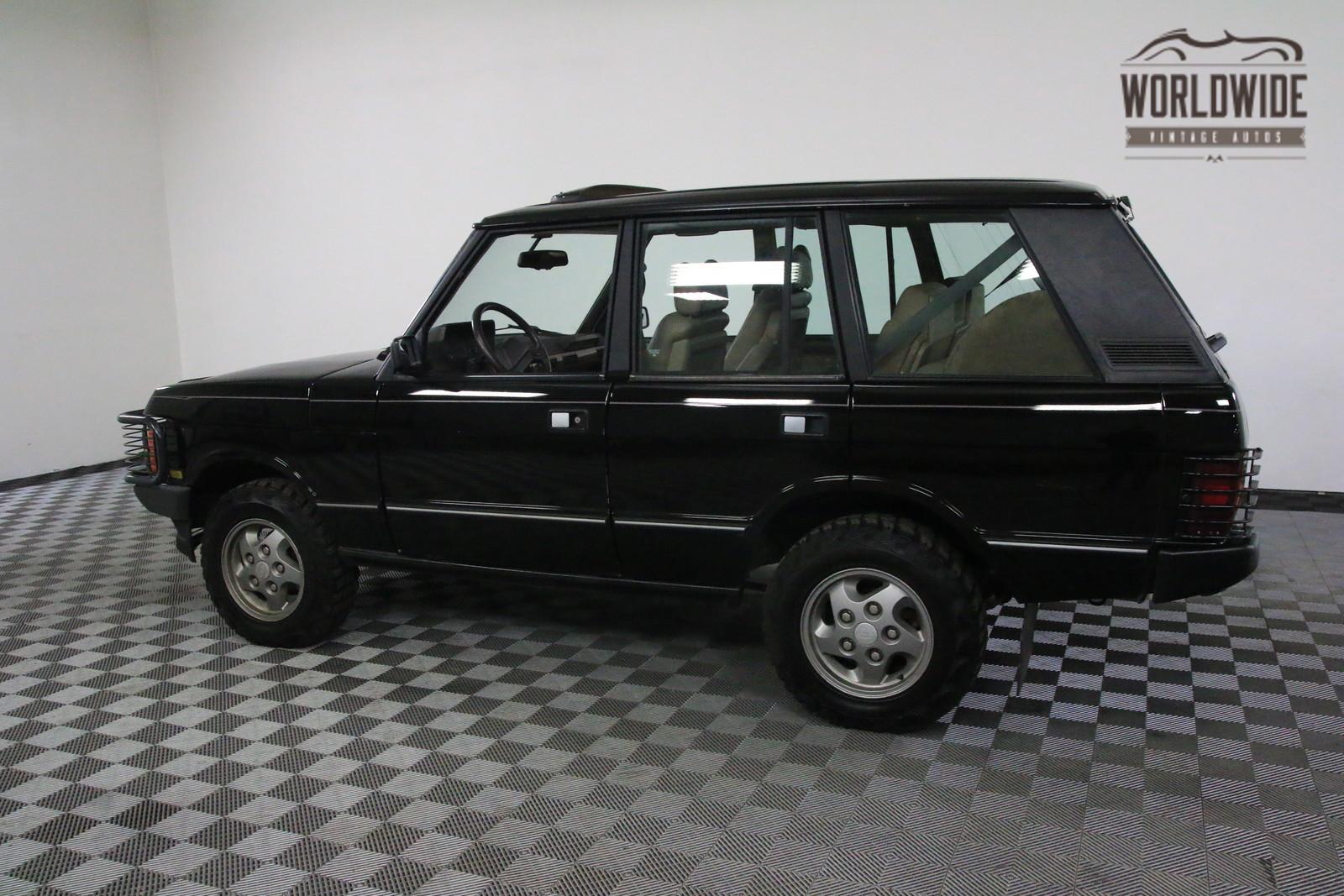 422 Auto Sales >> 1994 Black 127K AUTO AC RANGE ROVER CLASSIC! - Classic Land Rover Range Rover 1994 for sale