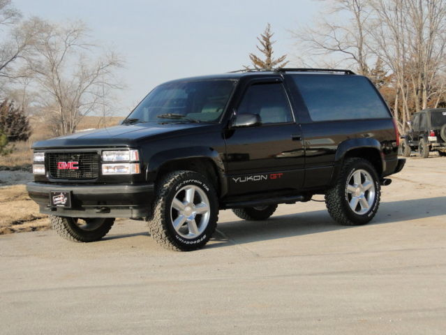1994 Black 4x4 Gmc Yukon Gt Classic Gmc Yukon 1994 For Sale