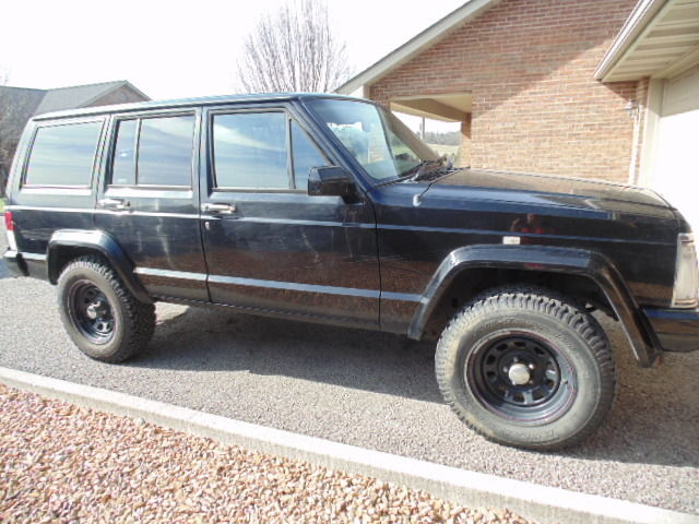 1994 black jeep cherokee right hand drive 4x4 great shape runs great mailtray classic jeep. Black Bedroom Furniture Sets. Home Design Ideas