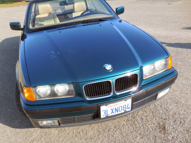 1994 BMW E36 318i 5 Speed Convertible! Rust-Free California Car Only
