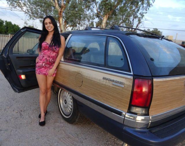 1994 Buick Roadmaster Wagon 9 Passenger Loaded Lt1 V8 Ac