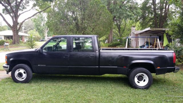 1994 Chevrolet 3500 1-ton crew cab 4x4 dually w/ 454 5 spd w