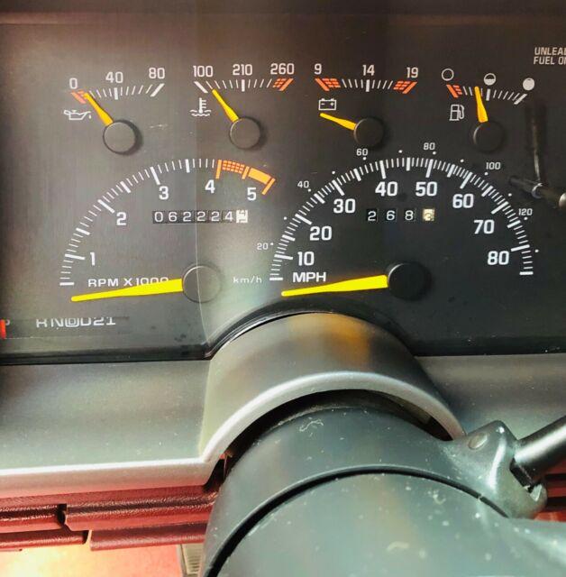 1994 Chevrolet Silverado Extended Cab 1500 Short Bed 4x4