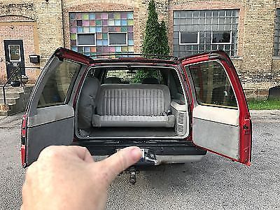 1994 Chevrolet Suburban Two Tone Black And Red With 4th