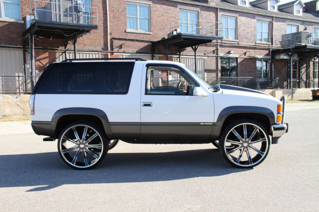 2018 K5 Blazer >> 1994 CHEVY 4X4 FULL SIZE SPORT 2 DOOR K5 BLAZER V8 4WD - Classic Chevrolet Blazer 1994 for sale