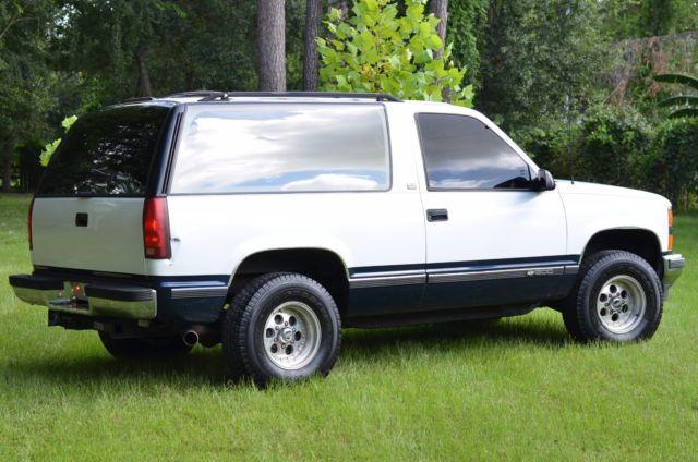 1994 chevy k1500 blazer 4x4 suv off road automatic v8 classic chevrolet blazer 1994 for sale. Black Bedroom Furniture Sets. Home Design Ideas