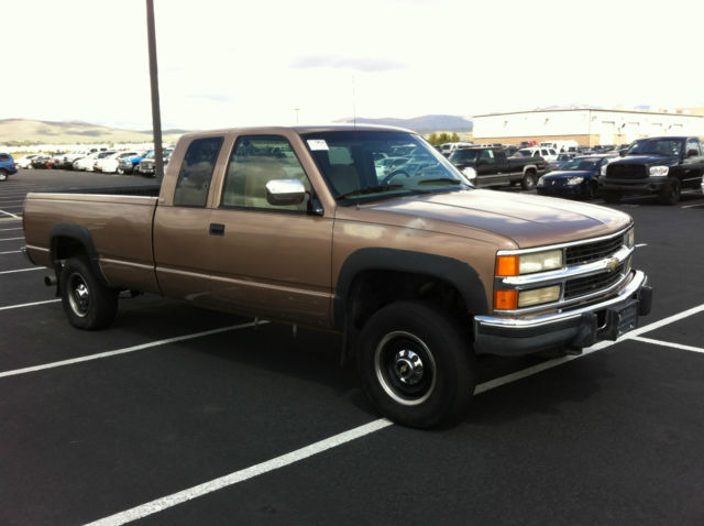 1994 chevy silverado 2500 ext cab 6 5 turbo diesel 4x4. Black Bedroom Furniture Sets. Home Design Ideas