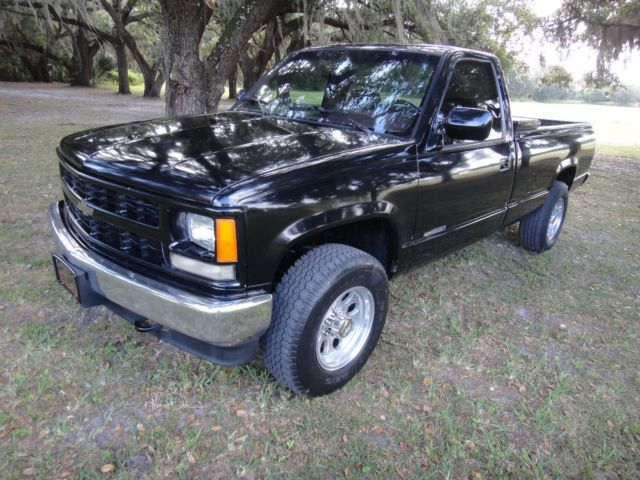 1994 chevy silverado 4x4 auto very nice condition florida black beauty classic chevrolet. Black Bedroom Furniture Sets. Home Design Ideas