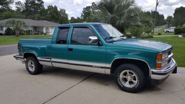 1994 chevy silverado c k1500 stepside low miles only 117k noreserve classic chevrolet. Black Bedroom Furniture Sets. Home Design Ideas