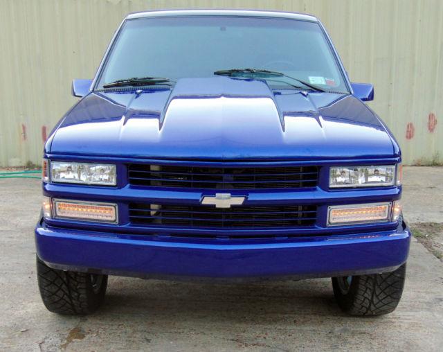 1994 CHEVY Z71 4x4 Single FRAME OFF Truck K RESTO Sierra C ...