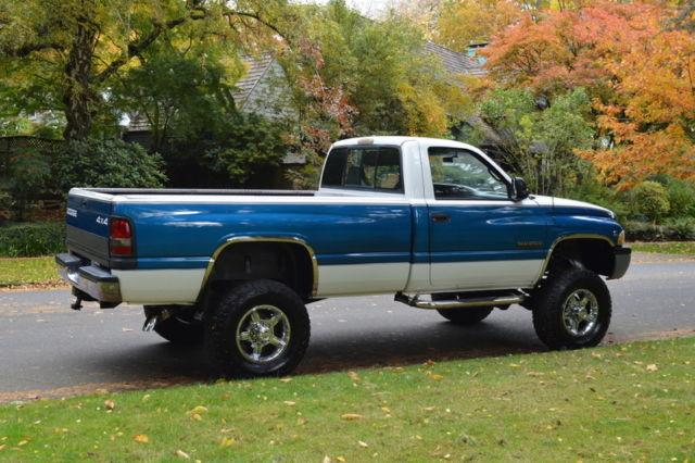 1994 DODGE RAM 2500 REG CAB LONG BED AUTO 4X4 5.9 CUMMINS DIESEL 136,545 MILES - Classic Dodge ...