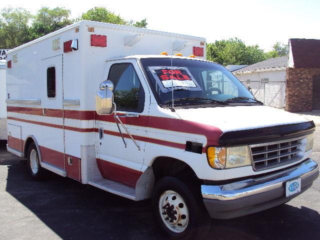 1994 Ford E 350 Lifeline Ambulance 7 3 Diesel Classic