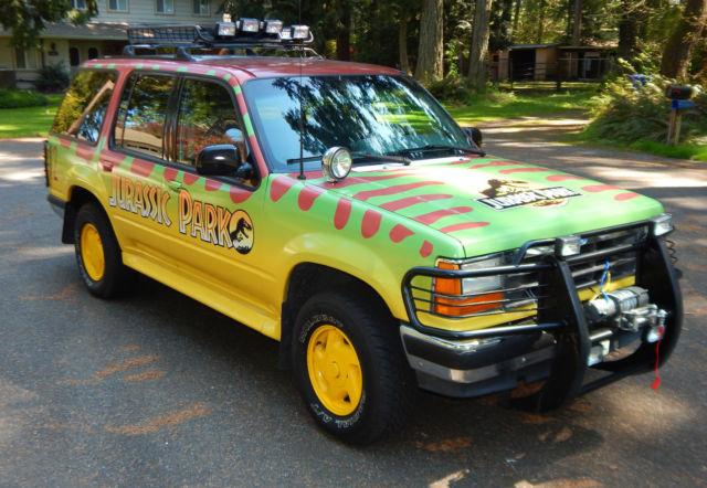 Washington Ford Pa >> 1994 Ford Explorer Jurassic Park Replica NO RESERVE SELL ...
