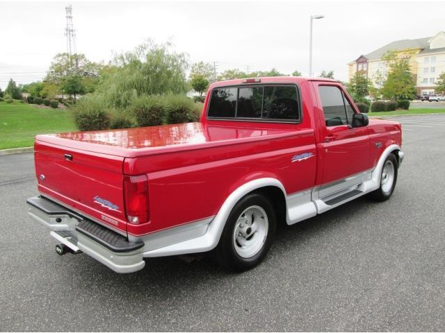 1994 ford f 150 svt lightning pick up red rare find limited production must see classic ford f. Black Bedroom Furniture Sets. Home Design Ideas