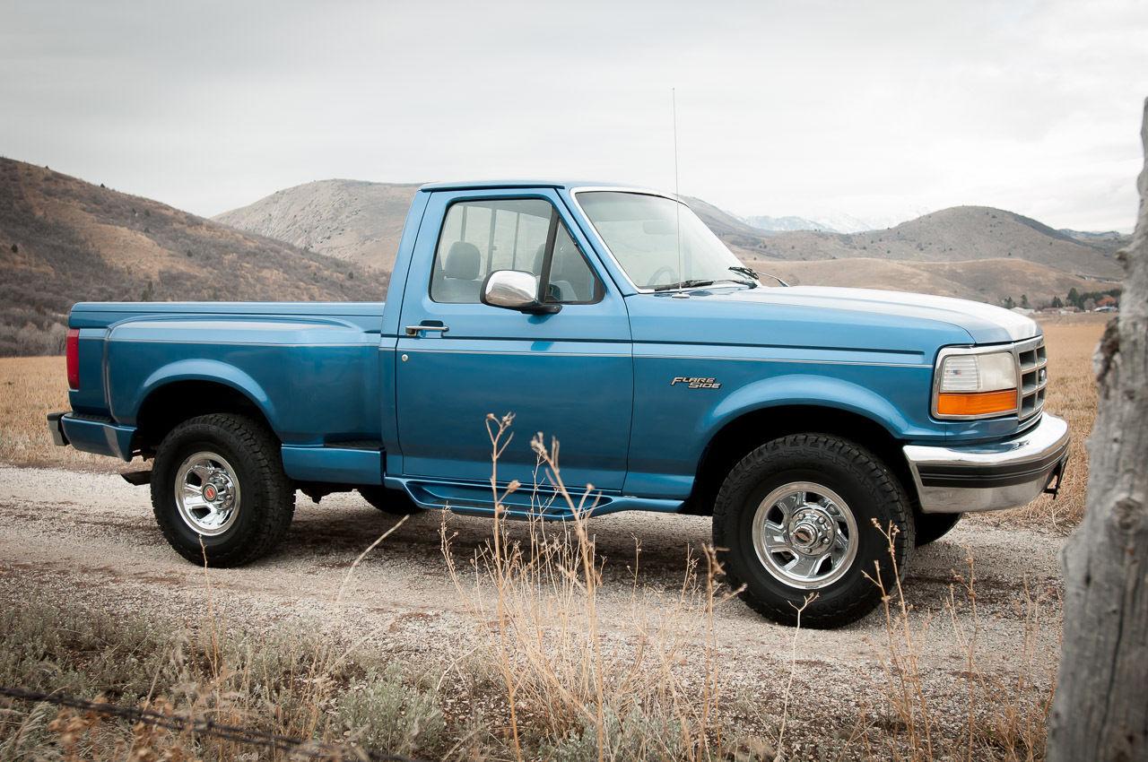 1994 ford f150 flareside truck for autos post. Black Bedroom Furniture Sets. Home Design Ideas