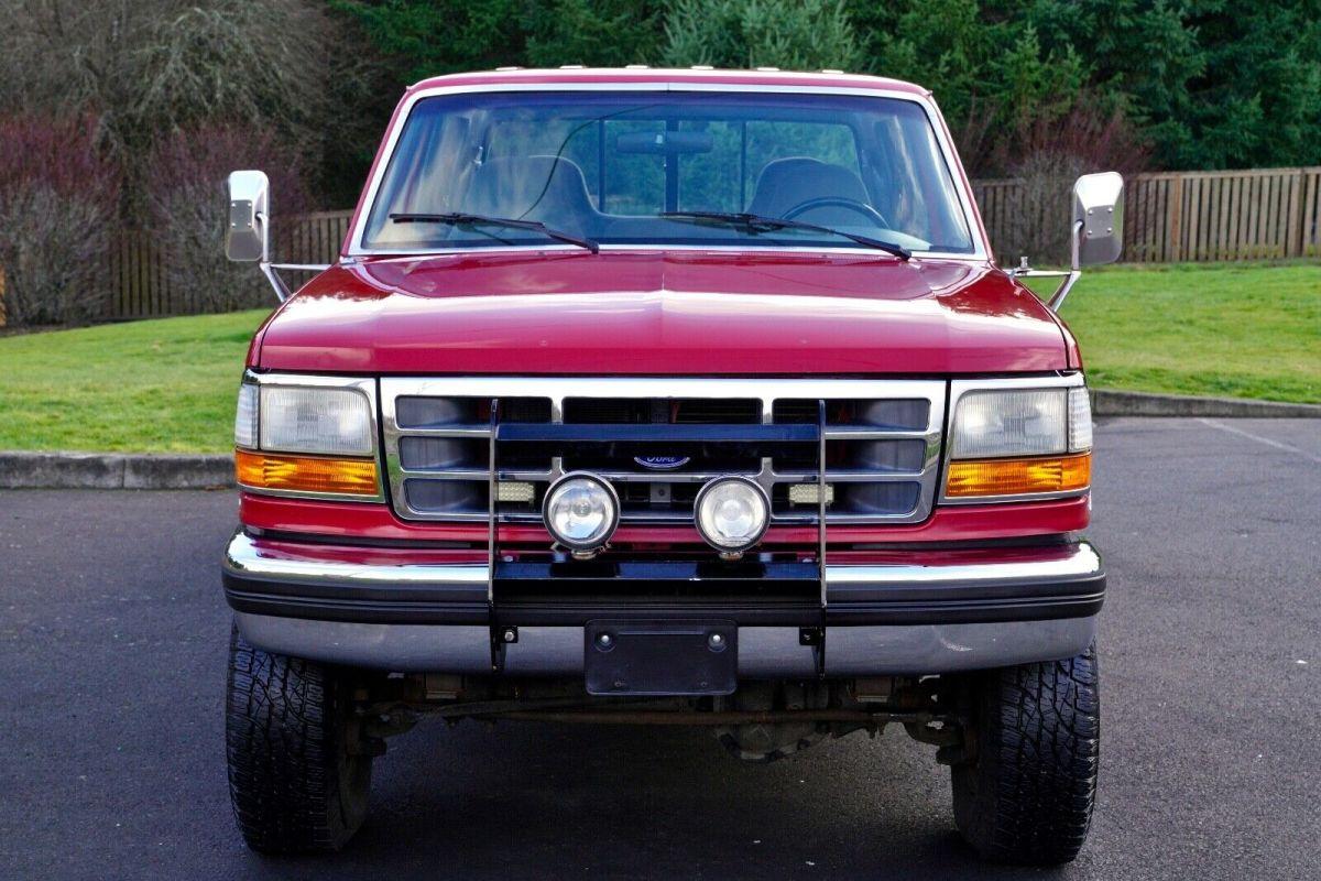 1994 Ford F-350 Crew Cab XLT 4-Door LB SWR 460 Gas Engine ...