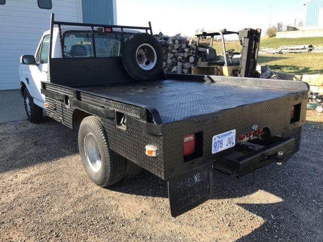 1994 ford f 350 dually flatbed 5 speed gooseneck new long block classic ford f 350 1994 for sale. Black Bedroom Furniture Sets. Home Design Ideas