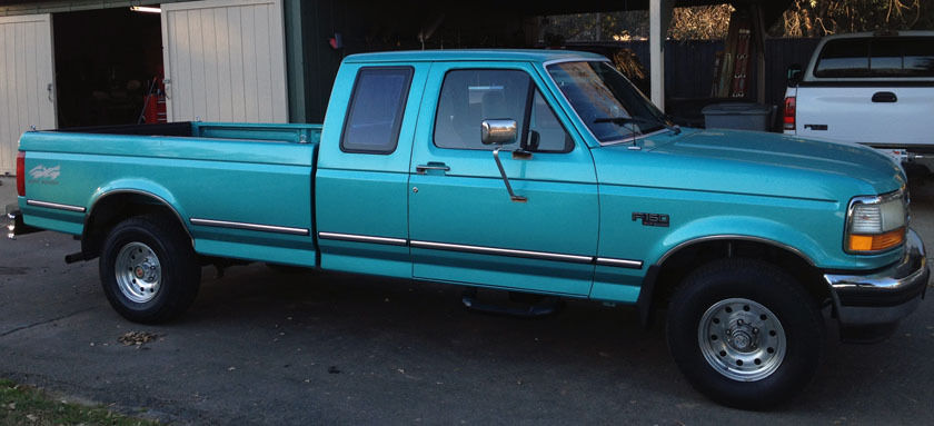 Ford F X Extra Cab Long Bed Excellent Condition Low Miles on 1994 Ford F 150 Automatic Transmission