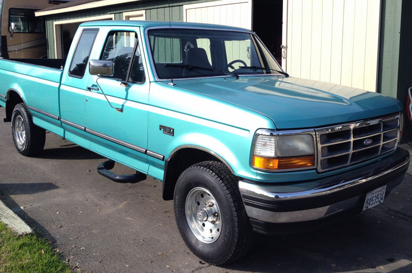 Ford F X Extra Cab Long Bed Excellent Condition Low Miles on Ford F 150 Power Steering