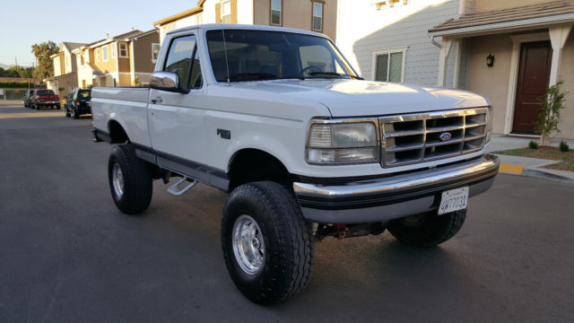 Ford F X Xlt Short Bed Efi V Fully Loaded on 1994 F150 Engine