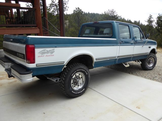 1994 ford f350 xlt 4x4 crew cab not diesel f250 f150 for 1998 ford f150 motor for sale