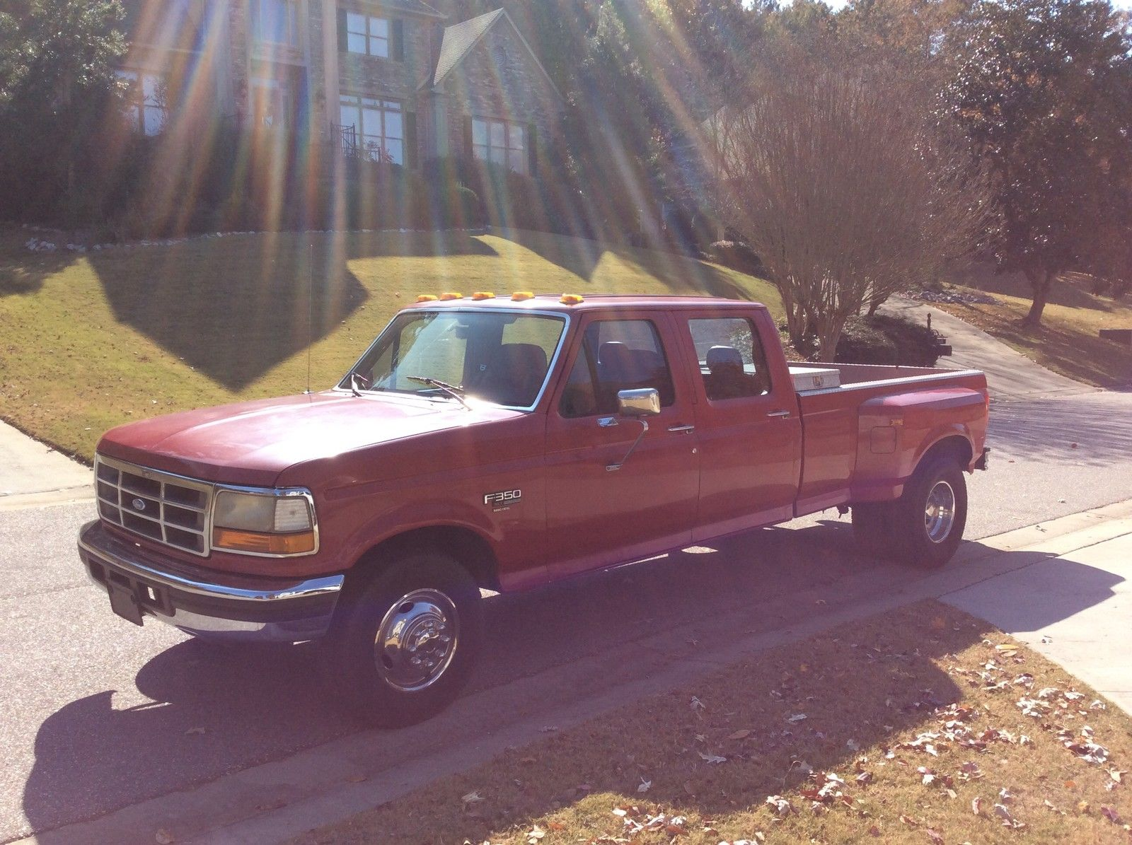 1994 Ford F350 XLT Crew Cab Dually 7.3 Turbo Diesel Low Miles - Classic Ford F-350 1994 for sale