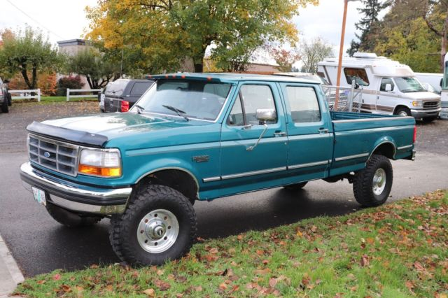 Ford F Xlt Crew Cab Long Bed X F on 1997 F350 Extended Cab