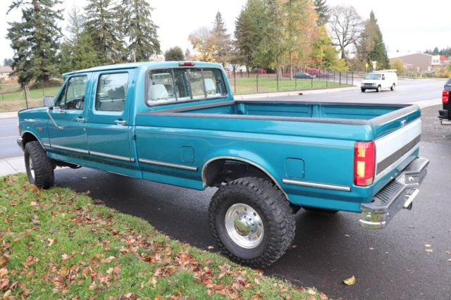 Ford F Xlt Crew Cab Long Bed X F on 1994 Ford F 250 Engine
