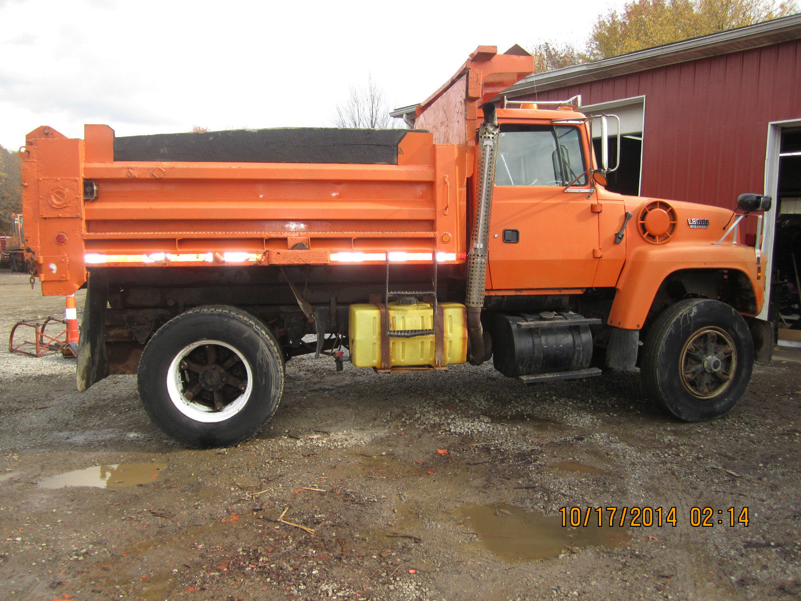 Heavy Duty Truck For Sale Ohio >> 1994 FORD L8000 DIESEL AUTO ALLISON TRANS DUMP TRUCK NICE SHAPE - Classic Ford Other 1994 for sale