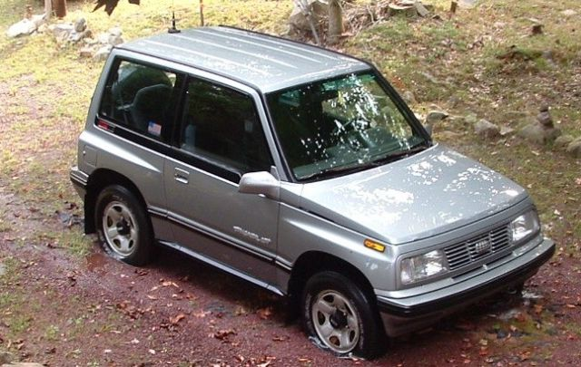 Geo Tracker Lsi For Parts Or Restoration Only Miles