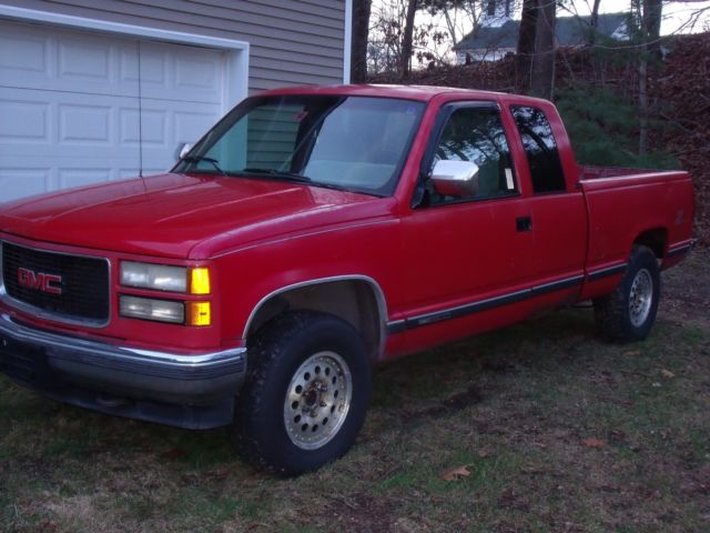 1994 gmc sierra 1500 z 71 off road truck parts or restore no reserve classic gmc sierra. Black Bedroom Furniture Sets. Home Design Ideas