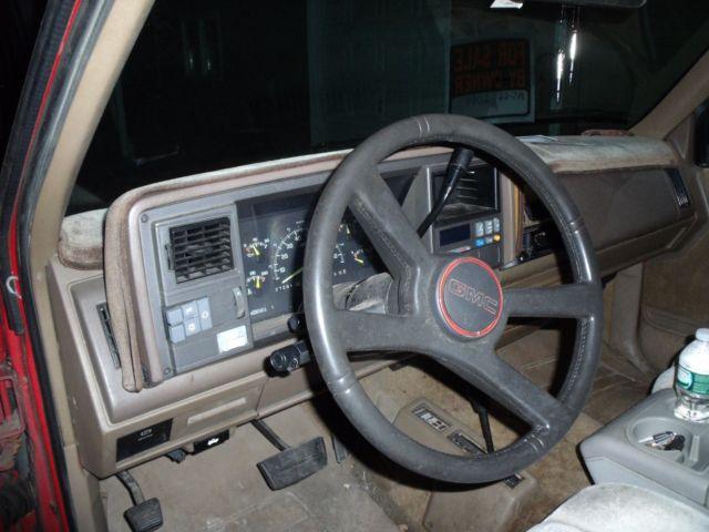 1994 gmc sierra 1500 z 71 off road truck parts or restore no reserve classic gmc sierra