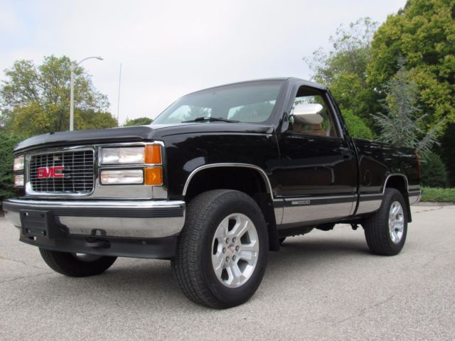 1994 Gmc Sierra Short Wide 4x4 With 120 000 Nice Shape