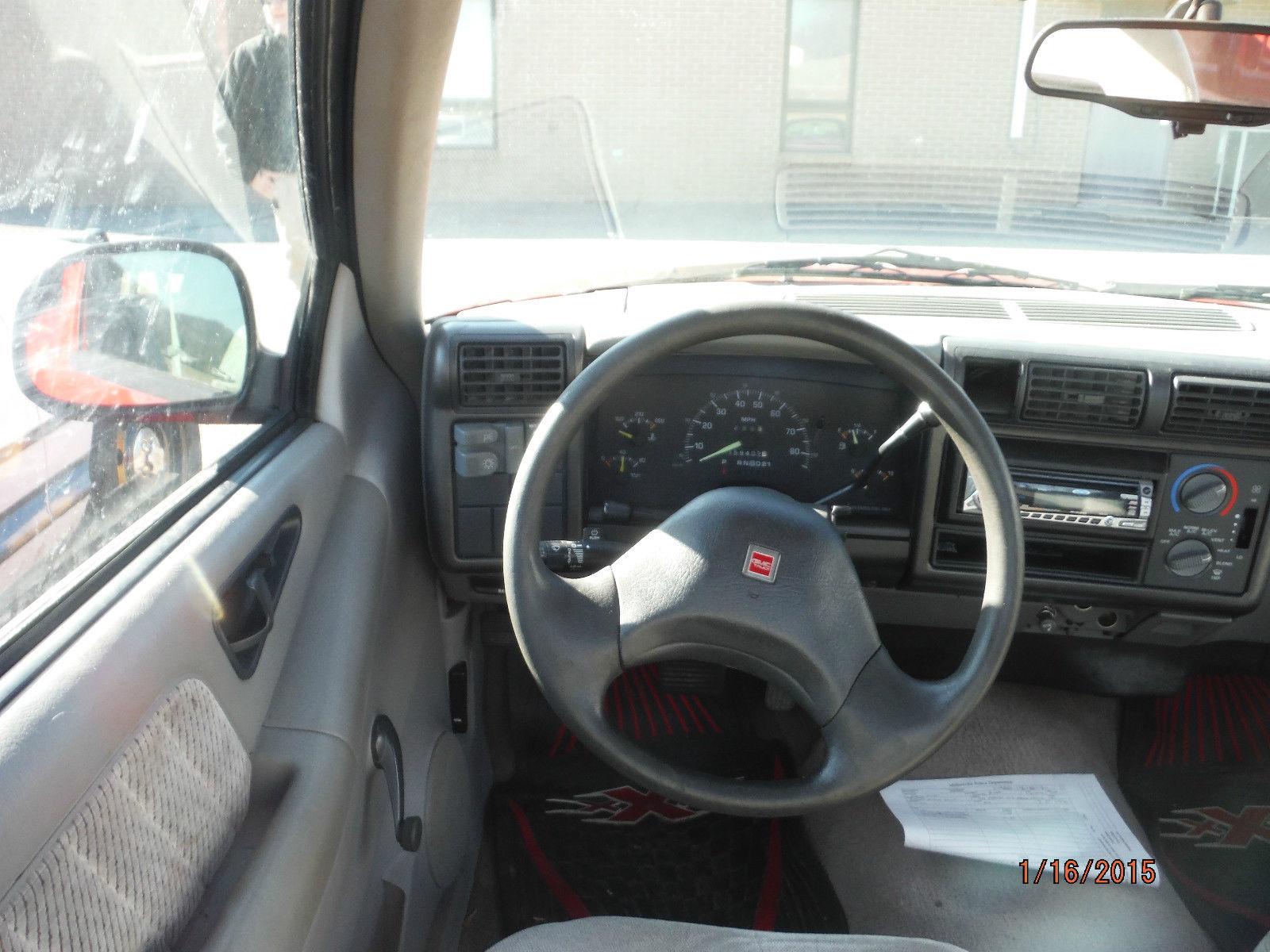 1994 Gmc Sonoma Sl Standard Cab Pickup 2 Door 4 3l Classic Gmc Sonoma 1994 For Sale