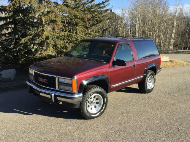 1994 gmc yukon 2 door sport private sale us truck. Black Bedroom Furniture Sets. Home Design Ideas