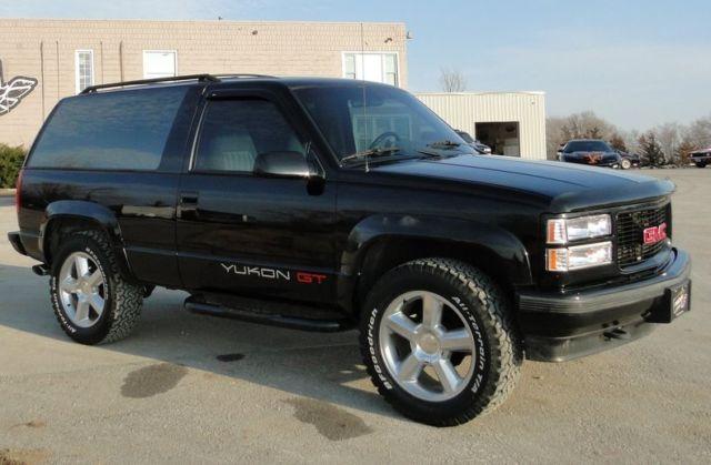 1994 Gmc Yukon Gt 273675 Miles Black Suv 5 7 Liter V8 4