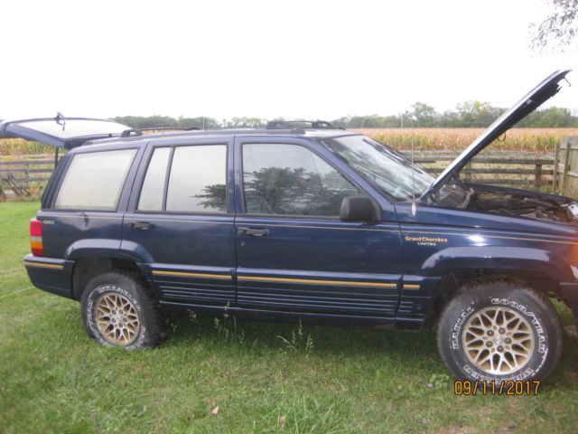 1994 grand cherokee limited 4x4 classic jeep grand cherokee 1994 for sale. Black Bedroom Furniture Sets. Home Design Ideas