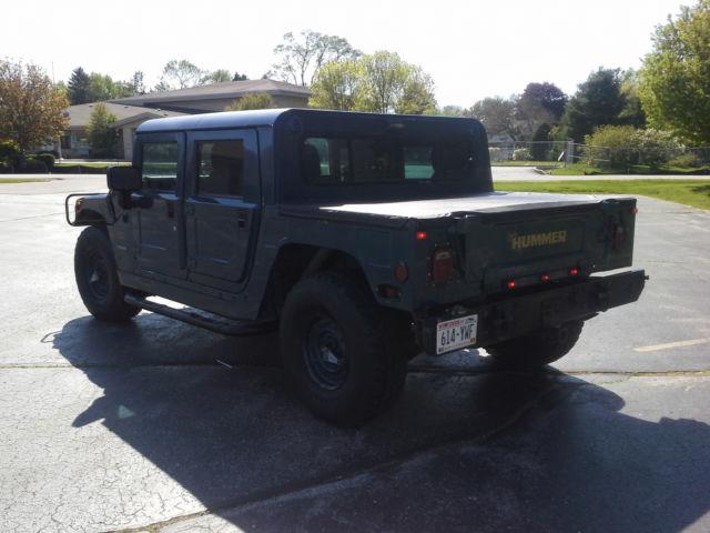 1994 H1 Hummer 4 Door Hard Top H1 Humvee Hmmwv Am General