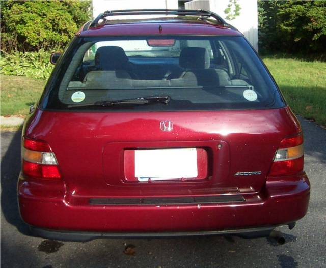 1994 honda accord wagon rare 5 speed manual top for Honda accord old model