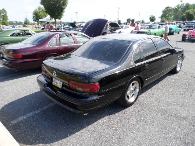 1994 impala ss black lt4 lots of new parts and upgrades classic chevrolet impala 1994 for sale. Black Bedroom Furniture Sets. Home Design Ideas