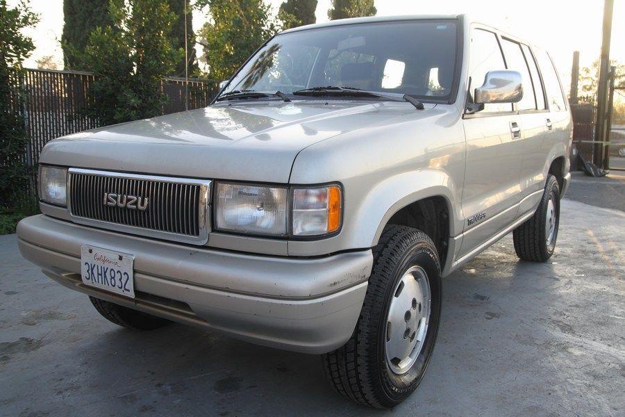 1994 Isuzu Trooper 4WD SUV Manual 6 Cylinder NO RESERVE
