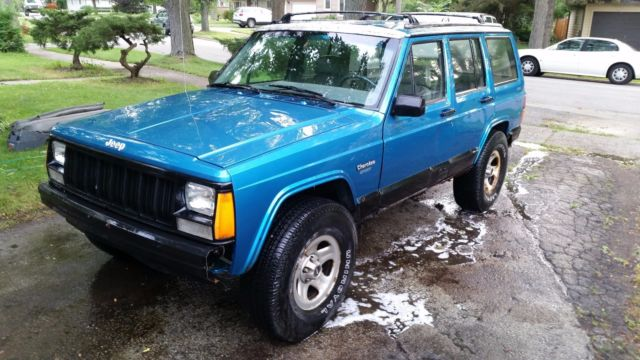 1994 jeep cherokee xj 4x4 project classic jeep cherokee 1994 for sale. Black Bedroom Furniture Sets. Home Design Ideas